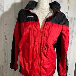 Columbia rain jacket Size 14-16